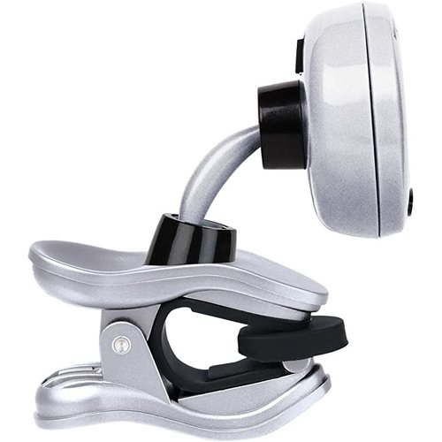 LPD Music Snark - SIL-1 Hyper - Fast Clip On Chromatic Tuner - Silver