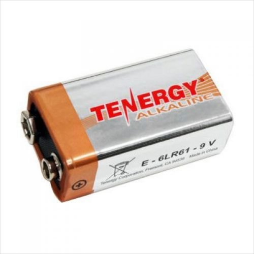 Tenergy - Battery - High Performance Alkaline - 9 Volt