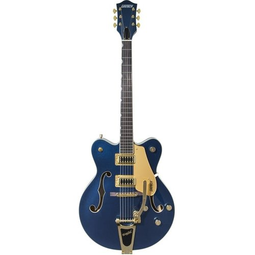 Gretsch Gretsch - G5422TG Limited Edition - Electromatic Hollow Body Double-Cut with Bigsby and Gold Hardware - Midnight Sapphire