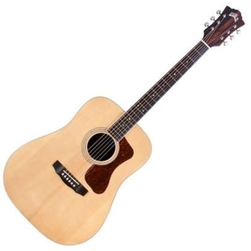 Guild Guitars Guild - D-260E Deluxe - Natural - Dreadnought - Acoustic-Electric Guitar
