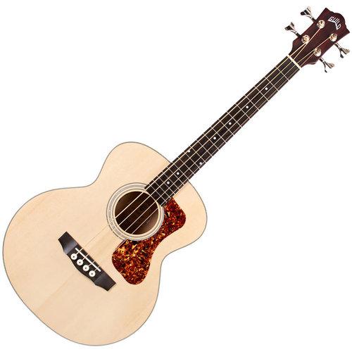 Guild Guitars Guild - Jumbo Junior Bass E - SP/FM - Acoustic Bass with Soft case