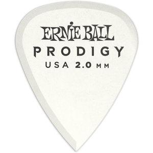 Ernie Ball Ernie Ball - 6 Pack Prodigy Picks - White Standard - 2mm