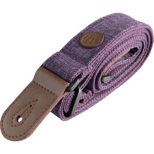 Kala Music Kala  - Ukulele Strap - Deluxe Cloth - Sonoma Coast Collection - Purple