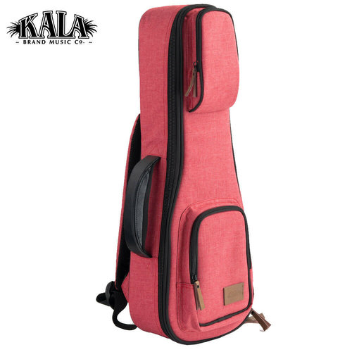 Kala Music Kala - Deluxe Soprano - Cloth Gig Bag / Case - Red
