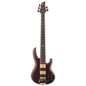 LTD - ESP Guitars LTD - B-5E - Ebony Mahogany - 5 String Bass - Natural Satin