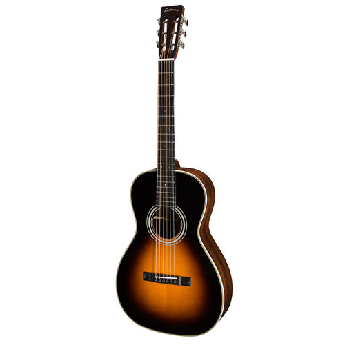 Eastman Strings Eastman - E20P-SB - Acoustic Guitar - Parlor Sunburst - All Solid Adirondack and Rosewood