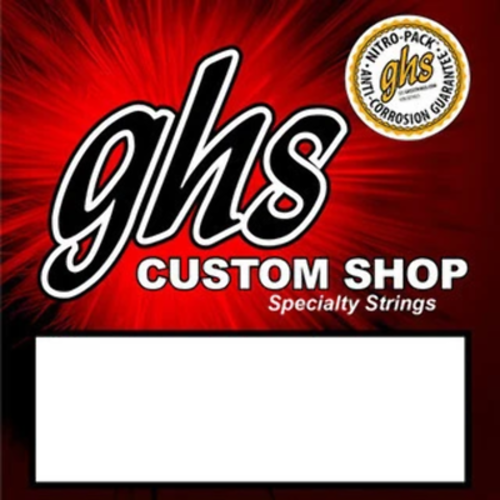 GHS GHS - Ukulele Strings -  Custome Shop Black Nylon - Tenor Set  - with LOW G