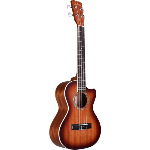 Cordoba Guitars Cordoba - 15TM-CE - Mahogany - Tenor Electro Acoustic Ukulele - Edgeburst