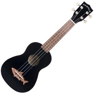 Kala Music Makala - Shark - Soprano Acoustic Ukulele - Black