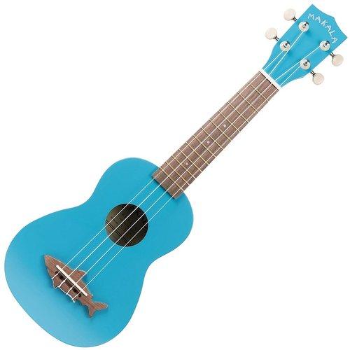 Kala Music Makala - Shark - Soprano Acoustic Ukulele - Mako Blue