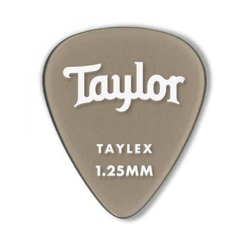 Taylor Guitars Taylor - Taylex  351- Guitar Picks - 1.25mm - 6 PACK - Smoke Grey