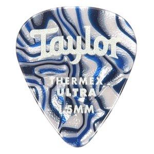 Taylor Guitars Taylor - Premium 351 - Thermex Ultra Guitar Picks - 1.50mm - 6 PACK - Blue Swirl