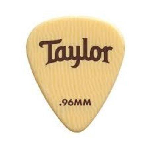 Taylor Guitars Taylor  - Premium 351 -  Guitar Pick - 0.96mm - 6 PACK - Ivoroid