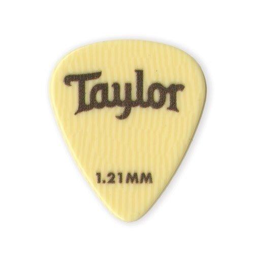 Taylor Guitars Taylor - Ivoroid 351 -  Guitar Pick - 1.21mm - 6 PACK -
