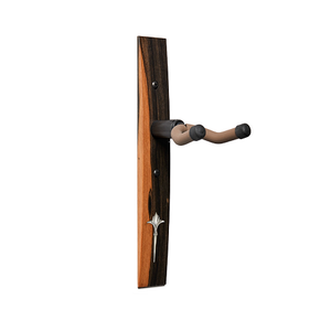 String Swing Taylor - Guitar Hanger - Crelicam Ebony - Nouveau Italian Acrylic - Inlay White