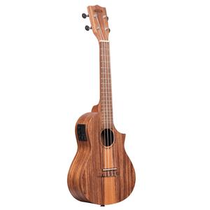Kala Music Kala - Teak Tri-Top CE - Concert - Electro Acoustic Ukulele