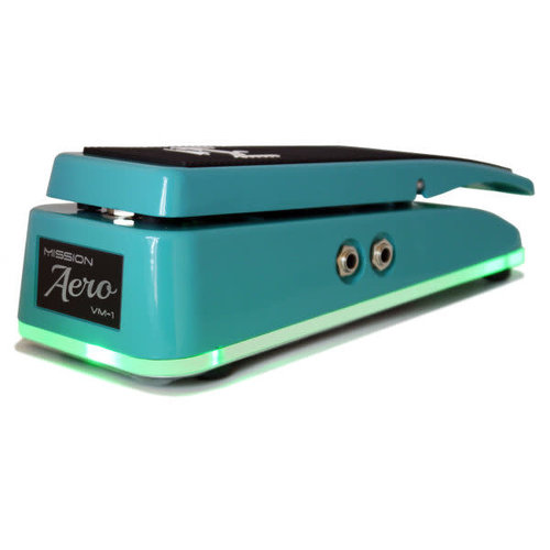 Mission Engineering Mission Engineering - VM1 Aero - Volume Pedal with LED Base - Standard - Surf Green