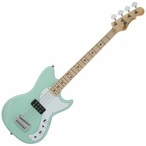 G&L G&L - Tribute - Fallout Bass - Maple Neck - White PG - Surf Green