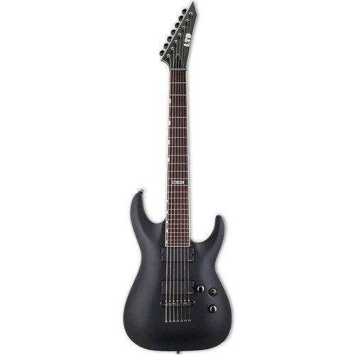 LTD - ESP Guitars LTD - MH-417 - Black Satin - 7 Strings