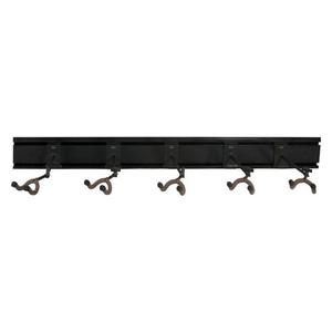 String Swing String Swing - 5 Guitar Rail and Hangers Bundle - Black