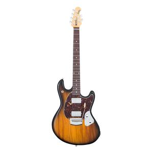 Ernie Ball Music Man Ernie Ball - Music Man StingRay Guitar - Vintage Tobacco- w/ Hard Shell Case