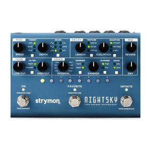 Strymon Strymon -  NightSky - Time-Warped Reverberator - Reverb Pedal