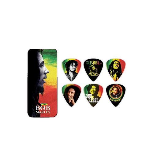 Dunlop Dunlop - Bob Marley Rasta Series - Pick Tin