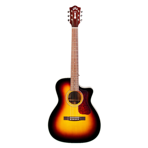 Guild Guitars Guild - OM-140CE - Acoustic-Electric Guitar - w/ Polyfoam Case - Sunburst