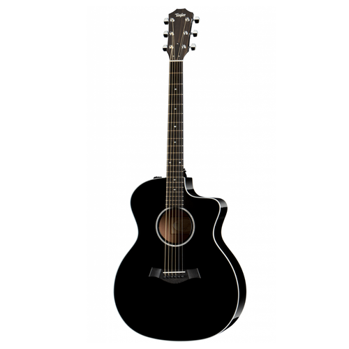 Taylor Guitars Taylor - 214ce-BLK DLX - Electro Acoustic Guitar - Black - w/ OHSC