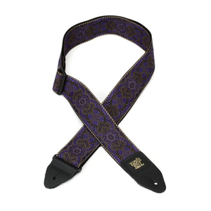Ernie Ball Ernie Ball - Purple Paisley Jacquard - Guitar Strap