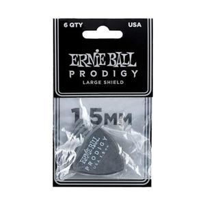Ernie Ball Ernie Ball - 6 Pack Prodigy Picks - Black Shield - 1.5mm