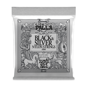 Ernie Ball Ernie Ball - Nylon Strings - Black and Silver