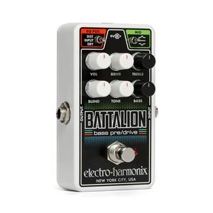 Electro Harmonix Electro Harmonix - Nano Battalion - Bass Preamp & Overdrive