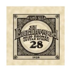 Ernie Ball Ernie Ball -  Earthwood 80/20 Bronze -  Single String - .28