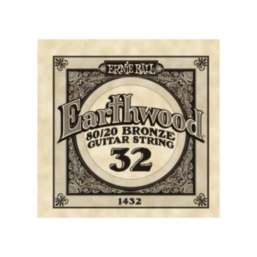 Ernie Ball Ernie Ball - Earthwood 80/20 Bronze - Single String - .32