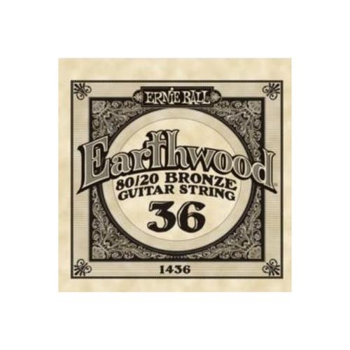 Ernie Ball Ernie Ball -  Earthwood 80/20 Bronze -  Single String - .36
