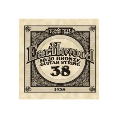Ernie Ball Ernie Ball -  Earthwood 80/20 Bronze -  Single String - .38