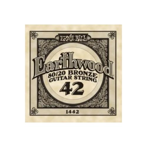 Ernie Ball Ernie Ball -  Earthwood 80/20 Bronze -  Single String - .42