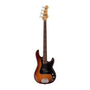 G&L G&L -  Fullerton Deluxe - LB100 Bass Guitar - Medium C Neck -  Caribbean Rosewood Fingerboard - Old School Tobacco Sunburst