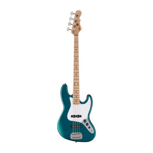 G&L G&L - Fullerton Standard - JB Bass Electric -  Hard Rock Maple Neck - Maple Fingerboard - Emerald Blue Metallic