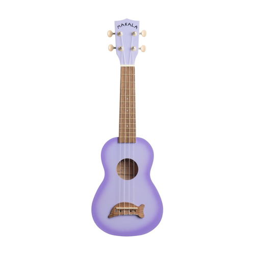 Kala Music Makala - Dolphin - Soprano Acoustic Ukulele - Purple Burst