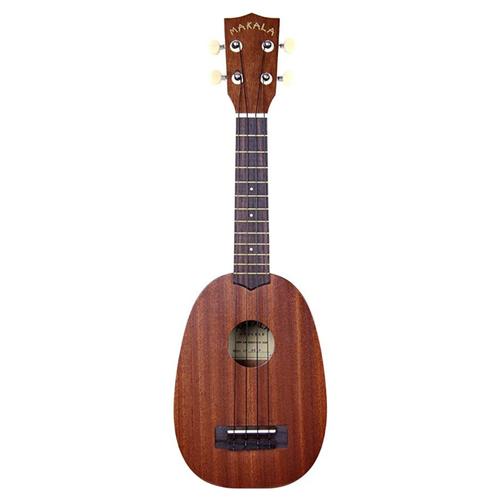 Kala Music Makala -  Soprano Acoustic Ukulele -  Pineapple