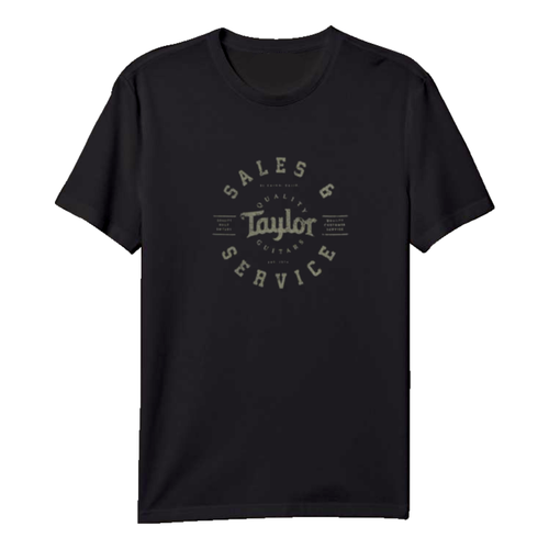 Taylor Guitars Taylor - T shirt - Men's Shop T - Black -