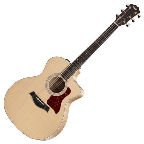 Taylor Guitars USED - Taylor - 214ce QM Deluxe - Quilted Maple - Electro Acoustic Guitar - w/ OHSC - CONSIGNMENT