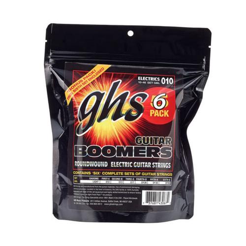 GHS GHS - Boomers Electric Guitar Strings - 6 PACK  - 10-46
