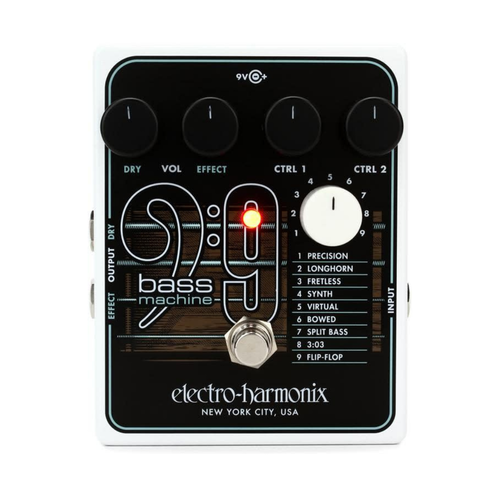 Electro Harmonix Electro Harmonix - Bass 9 - Bass Machine - Simulator