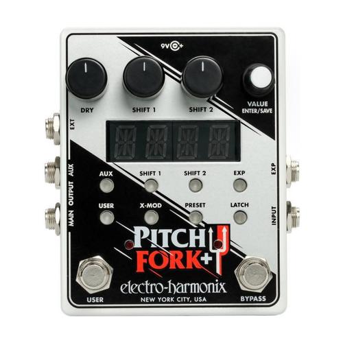 Electro Harmonix Electro Harmonix - Pitch Fork+  - Pitch Shifter Pedal