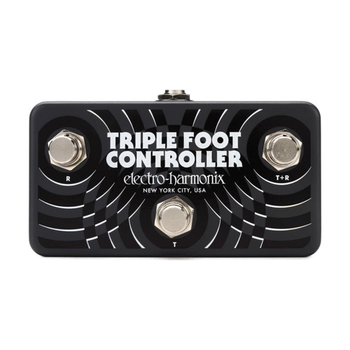 Electro Harmonix Electro Harmonix - Triple Foot Controller - 3-Button Footswitch