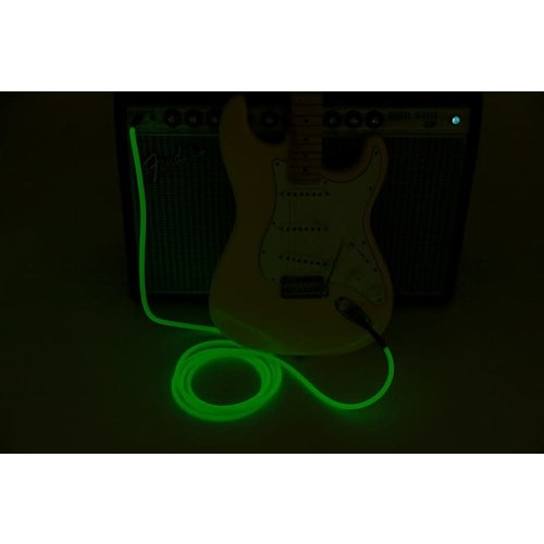 Fender Fender - Professional - Instrument Cable - 10'ft - ST/ST - Glow in the dark - Green