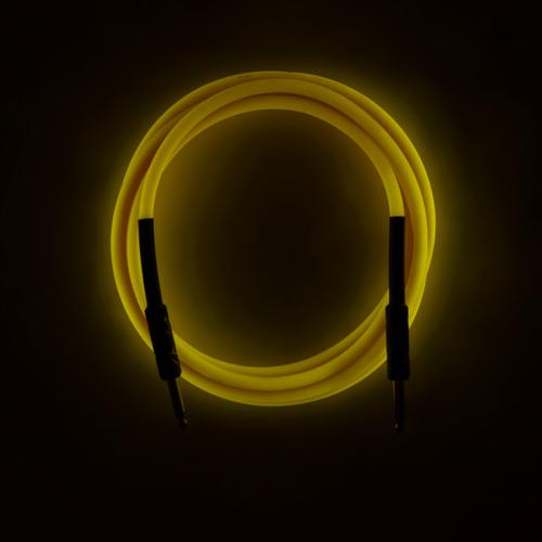 Fender Fender - Professional - Instrument Cable - 18.6'ft - ST/ST - Glow in the dark - Orange